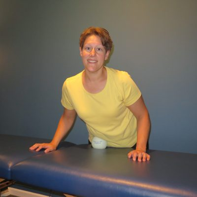 Gentle myofascial release stretches help to relieve tension