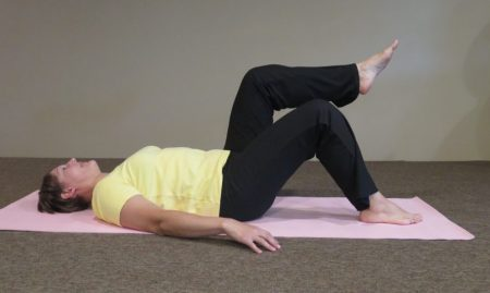 Pilates leg lift